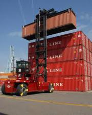 container handler,  tower crane,  excavator,  grader,  welding,  dump truck
